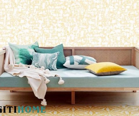 plaster wall paper